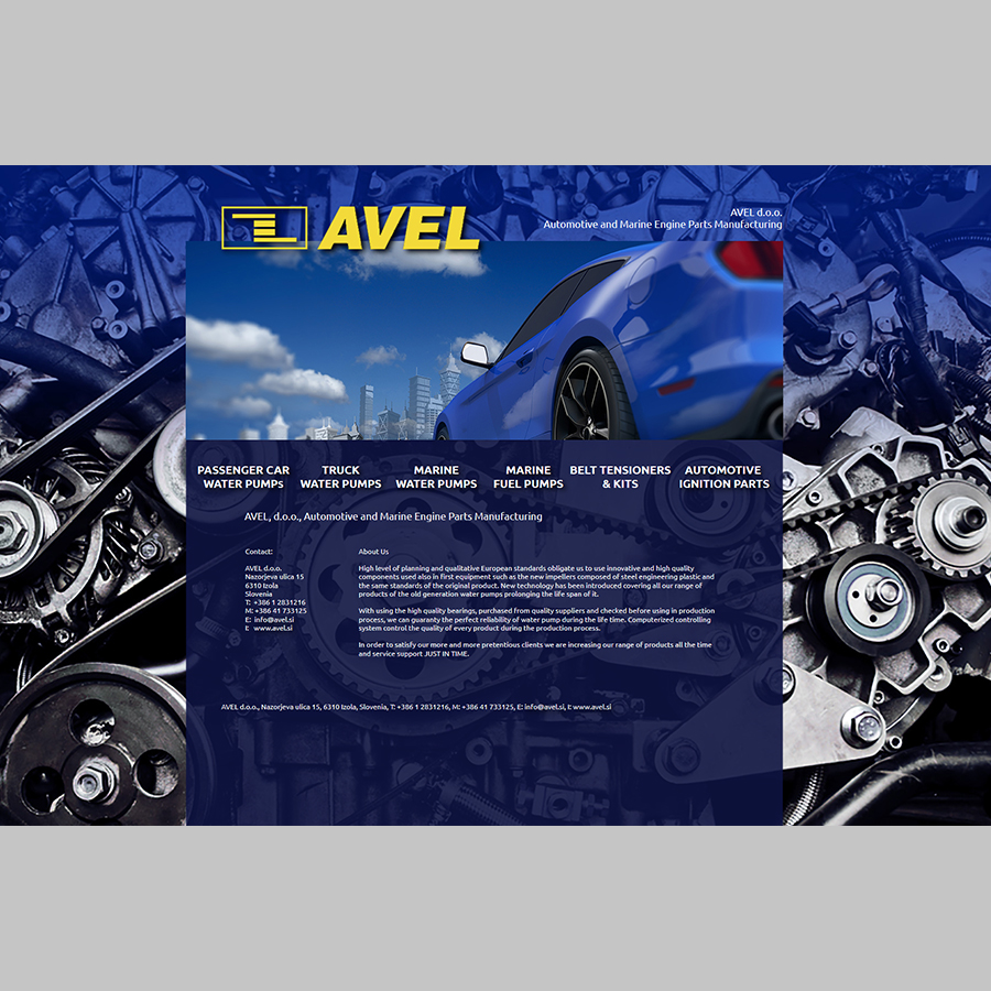 Avel Web Page